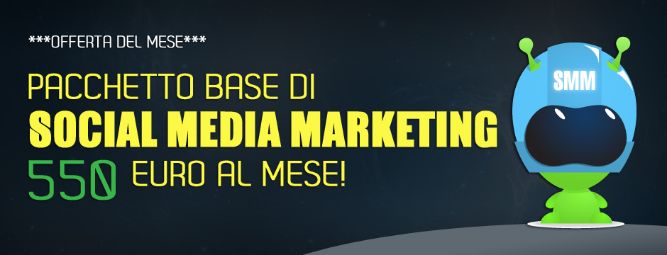 Offerta servizi di Social Media Marketing