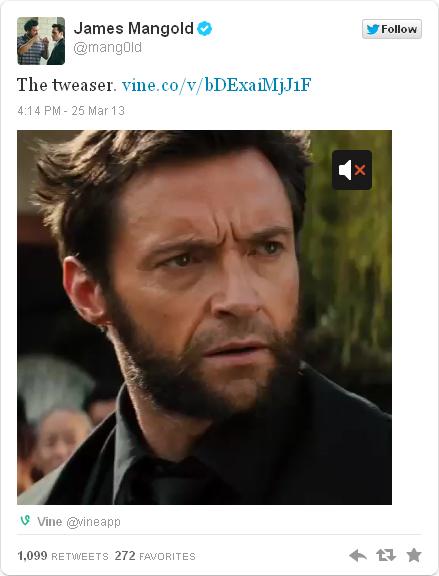 Wolverine tweaser