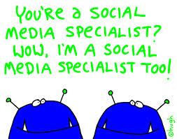Social Media Specialist (immagine da gapingvoid.com)