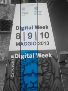 Ca' Foscari Digital Week 2013
