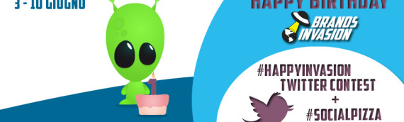 Happy Birthday Brands Invasion: #HappyInvasion Twitter Contest!