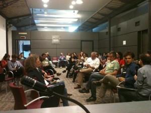 Il pubblico del #foodttt/rm, via @Al_Perri2