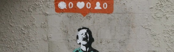 La street art incontra il social media