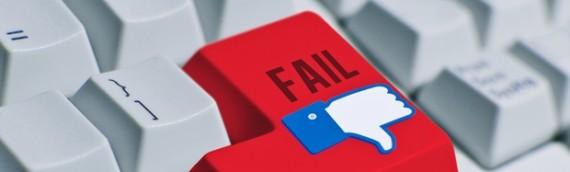 4 tragici errori del social media fai da te