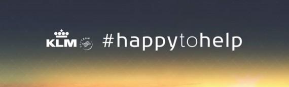 Il tempismo è tutto su Twitter: il caso #happytohelp di KLM